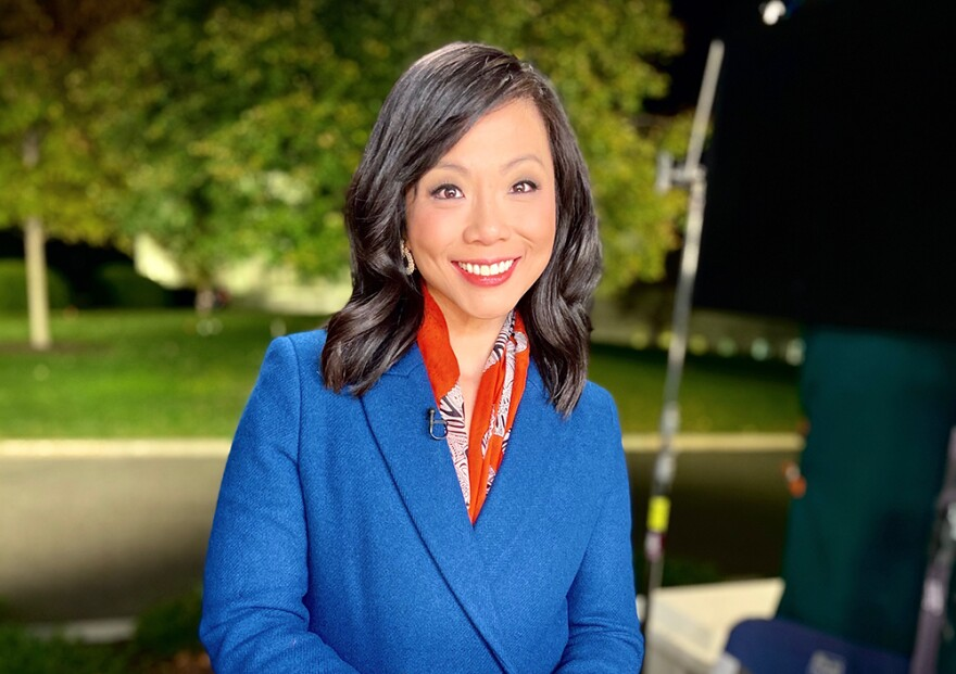 Weijia Jiang, senior White House correspondent for CBS News. (Courtesy)