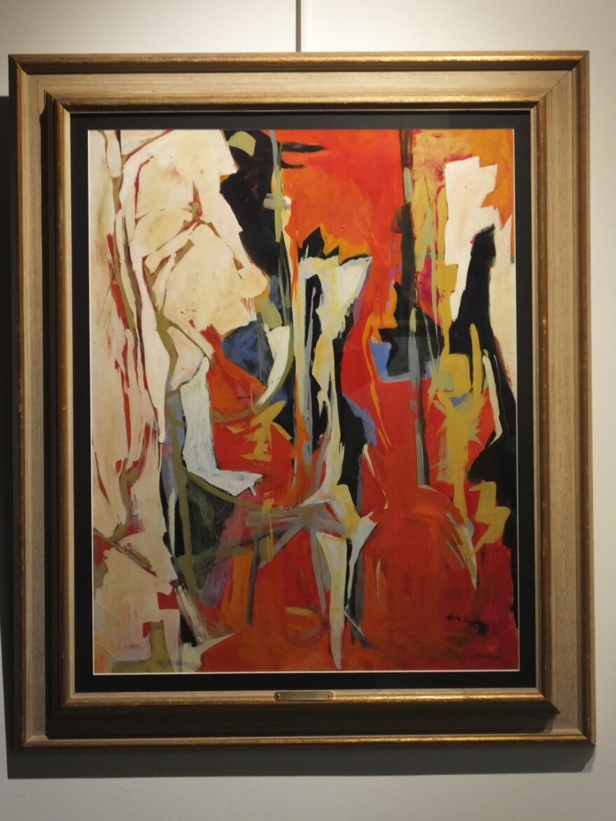 thumbnail_Elizabeth Asche Douglas (1930-) Inferno, 1951, Gouache and Acryclic.jpg