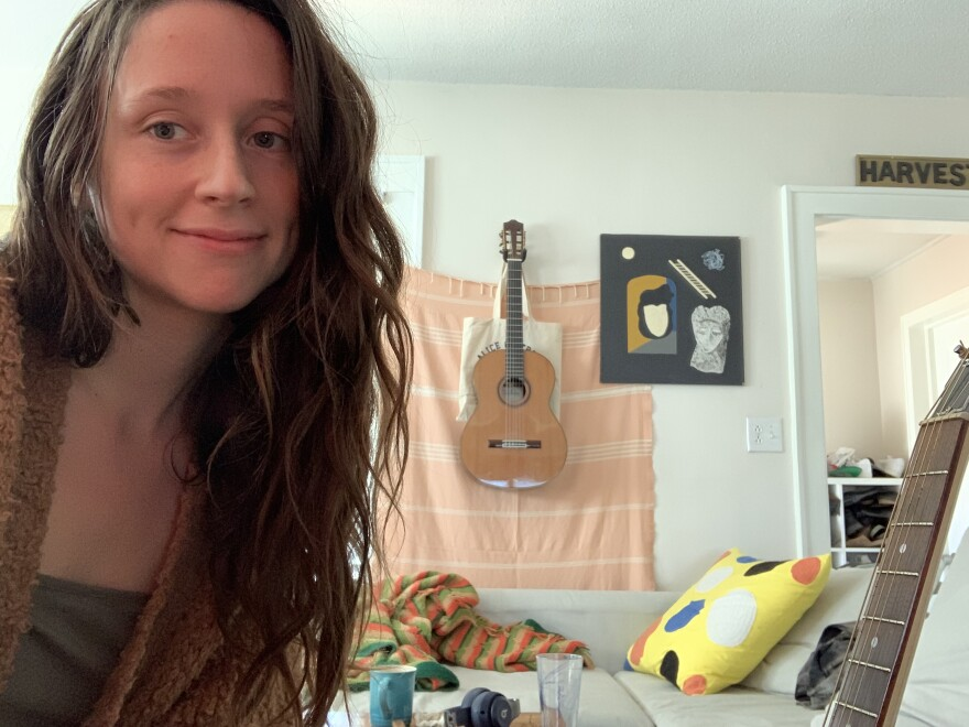 Waxahatchee's Katie Crutchfield at home.