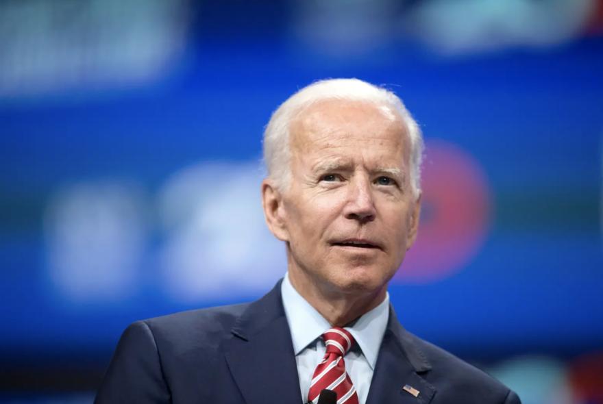 Joe Biden attends the National Education Association presidential forum in Houston on July 5, 2019.