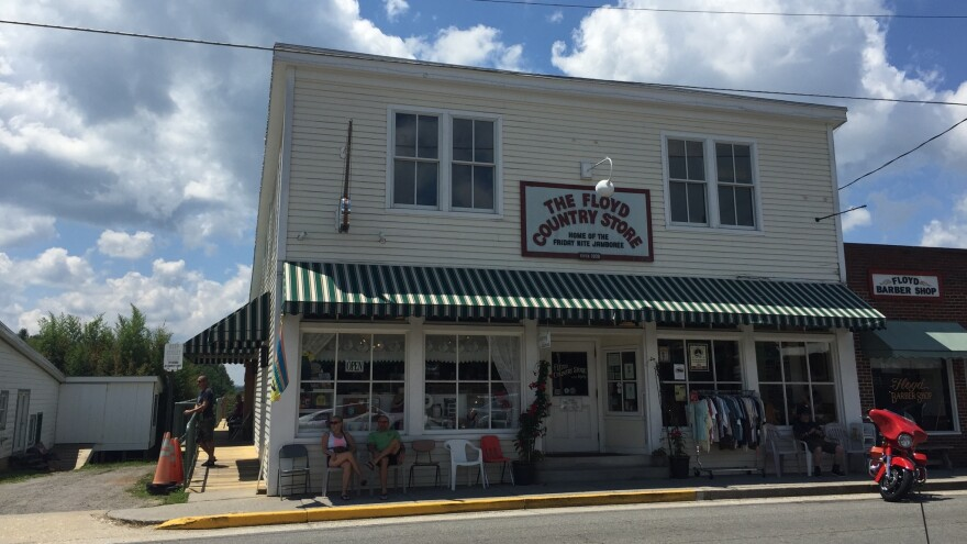 The Floyd Country Store is one of the nine main stops on The Crooked Road and is known for its Friday Night Jamborees.