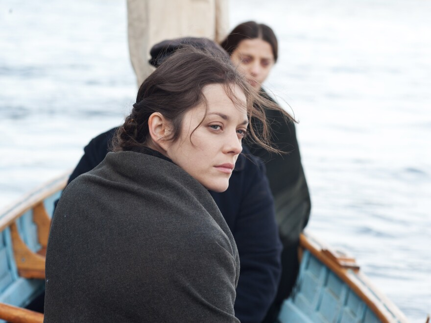 Marion Cotillard stars in <em>The Immigrant</em>, director James Gray's film about a Polish woman's experience after she disembarks at Ellis Island.