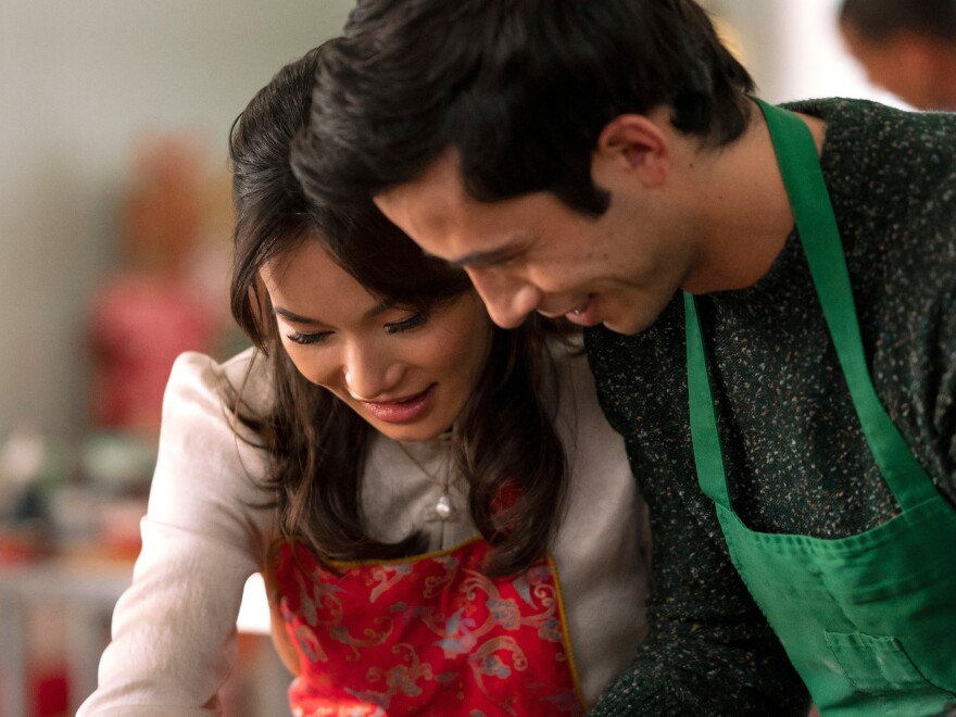 <em>A Sugar & Spice Holiday</em>, starring Jacky Lai and Tony Giroux, is Lifetime's first Chinese American Christmas romantic comedy.