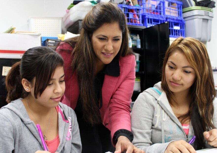 Students have a chance to get help with school through the outreach program. hispanic springfield latino