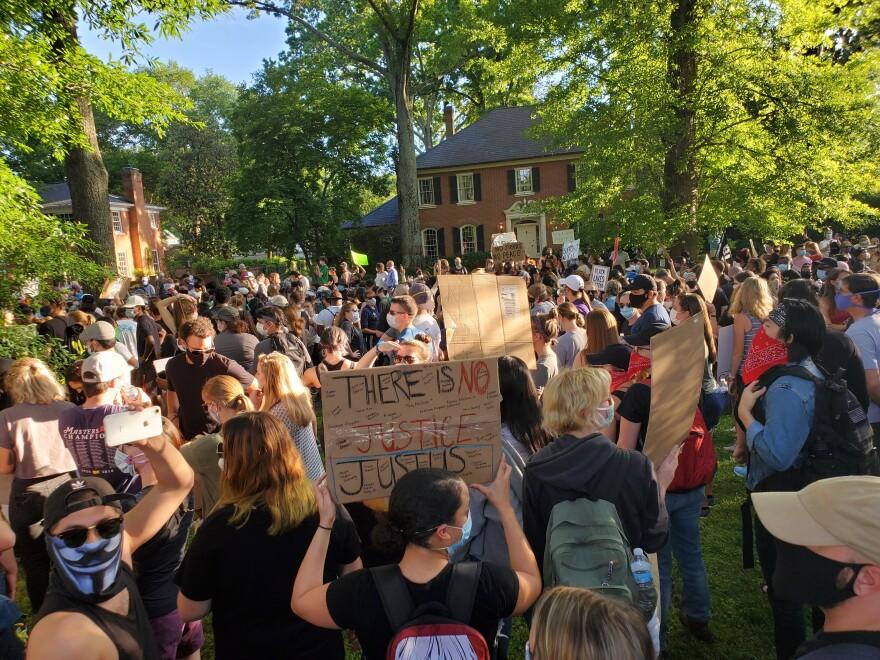Myers Park protest