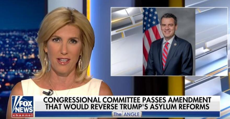 Laura Ingraham criticizes Rep. Kevin Yoder on his immigration stance.