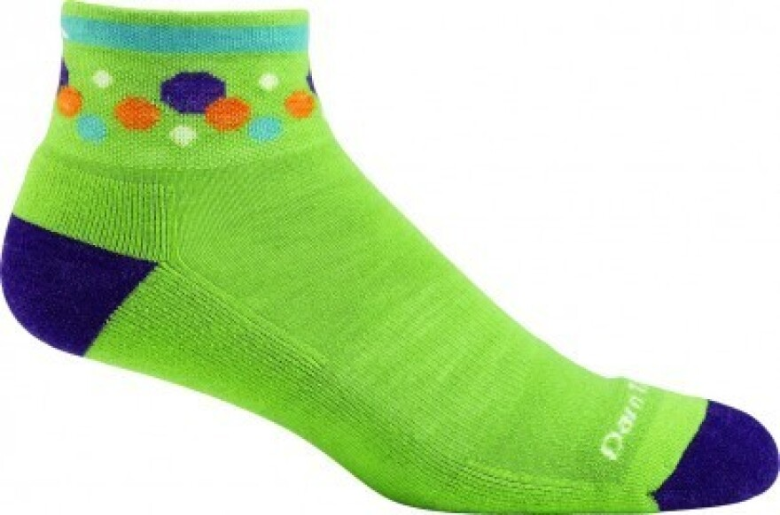 Antimicrobial sock from Darn Tough.