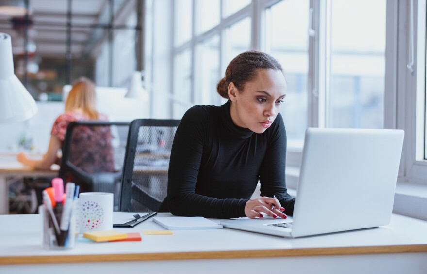 A new study shows that for every hour worked, women earn $2.83 less than their male counterparts.