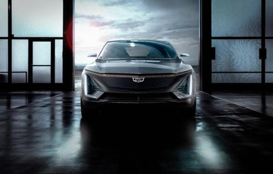 Cadillac announced in January it will build an all-electric SUV and showed this concept vehicle. A production name or delivery date has not been announced yet.