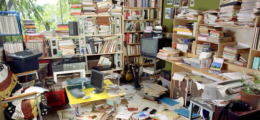 "Look familiar? Tim Harford says ""clean desk policies"" can stifle your creativity."
