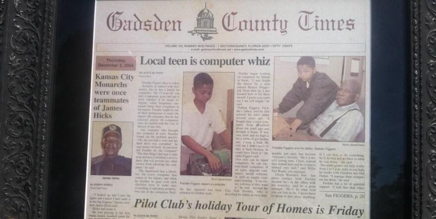 Newspaper Article Gadsden County Times