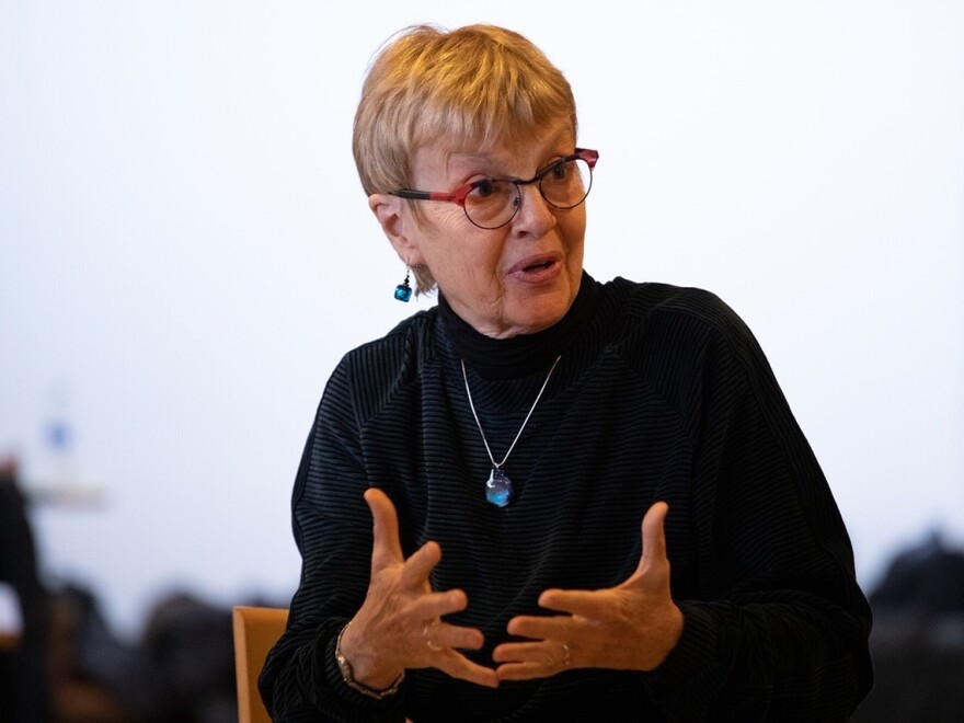 Carolyn Lukensmeyer, the first executive director of the National Institute for Civil Discourse and New Voice Strategies, says the idea of lawmaker workshops around civility struggled to gain traction in the early days.