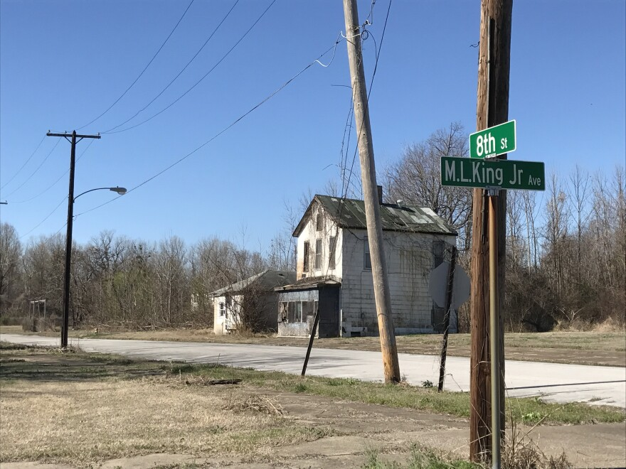 Cairo, Ill., is one of the fastest depopulating communities in the nation, with abandoned buildings throughout the river town. The federal government plans to demolish two public housing projects where many of the remaining residents live.
