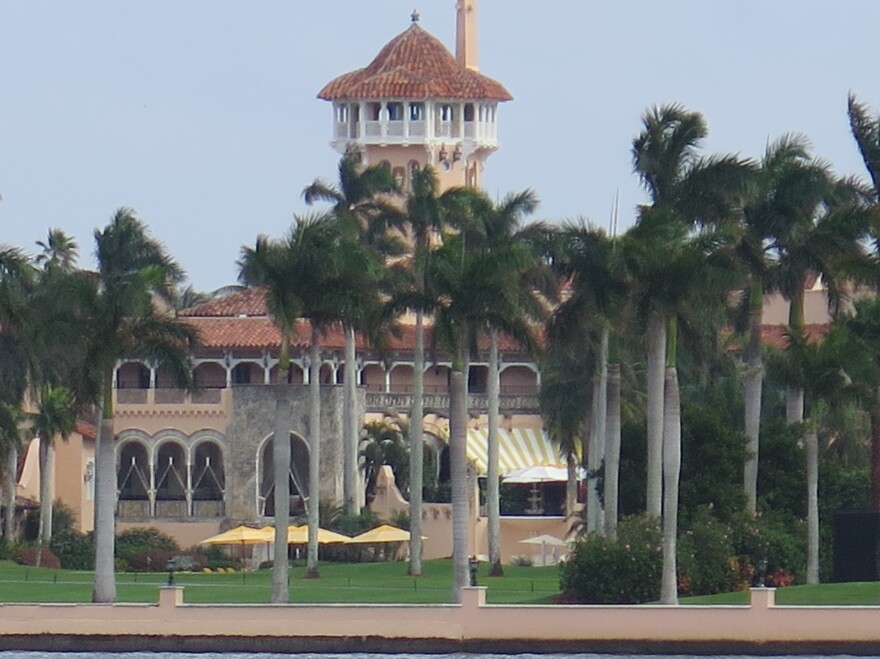 The town attorney of Palm Beach, Fla., John Randolph, says former President Donald Trump can legally reside at the Mar-a-Lago Club full time.