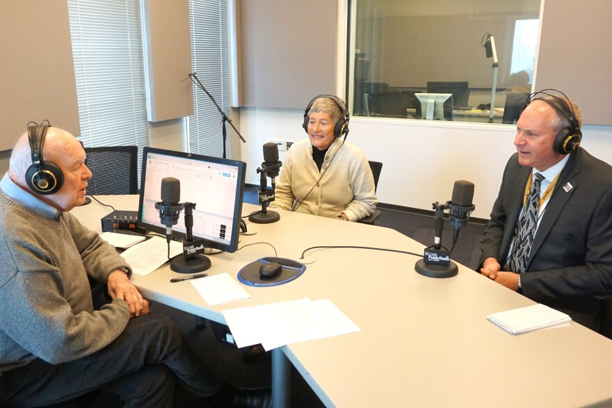 Host Don Marsh was joined by Tim Eby and Margaret Wolf Freivogel to discuss the five year anniversary of the merger between St. Louis Public Radio and the St. Louis Beacon.