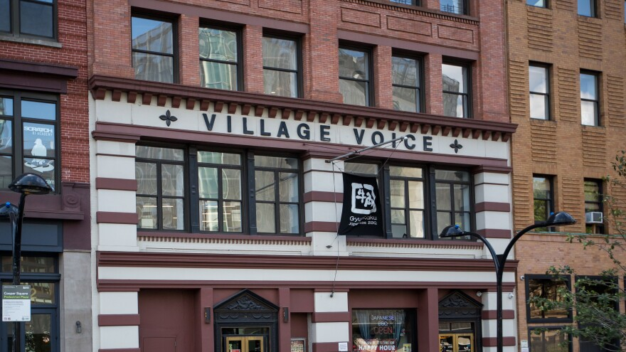 The former headquarters of the <em>Voice.</em>