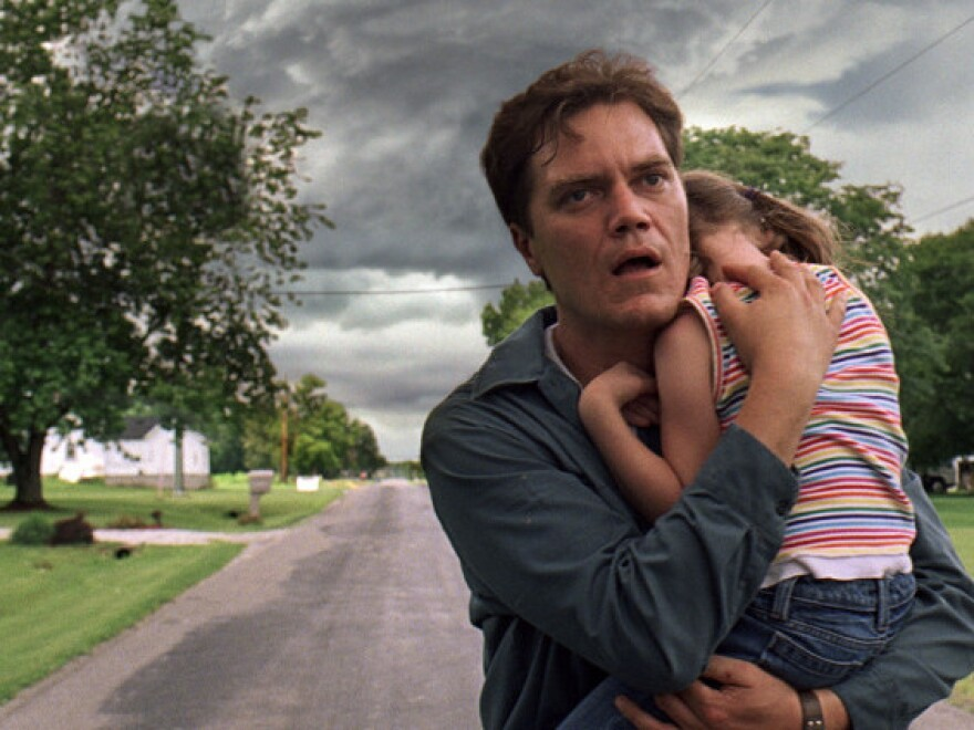 <p><strong></strong>Jeff Nichols' haunting <em>Take Shelter </em>centers on an Ohio man (Michael Shannon, with Tova Stewart) plagued with nightmares about a coming apocalypse.</p>