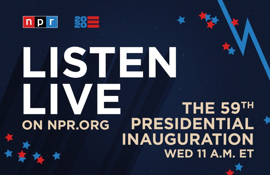 Listen to live special coverage of Biden's inauguration as 46th president of the United States.