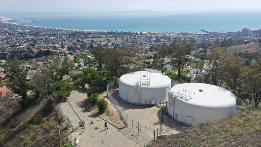 Residents in Ventura, Calif., believed large hilltop water tanks would provide ample water during a wildfire. But the water stopped flowing for some residents trying to protect their homes during 2017's Thomas Fire.