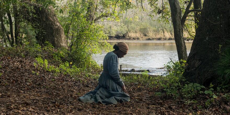 Harriet Tubman (Cynthia Erivo) in Kasi Lemmons' <em>Harriet</em>.