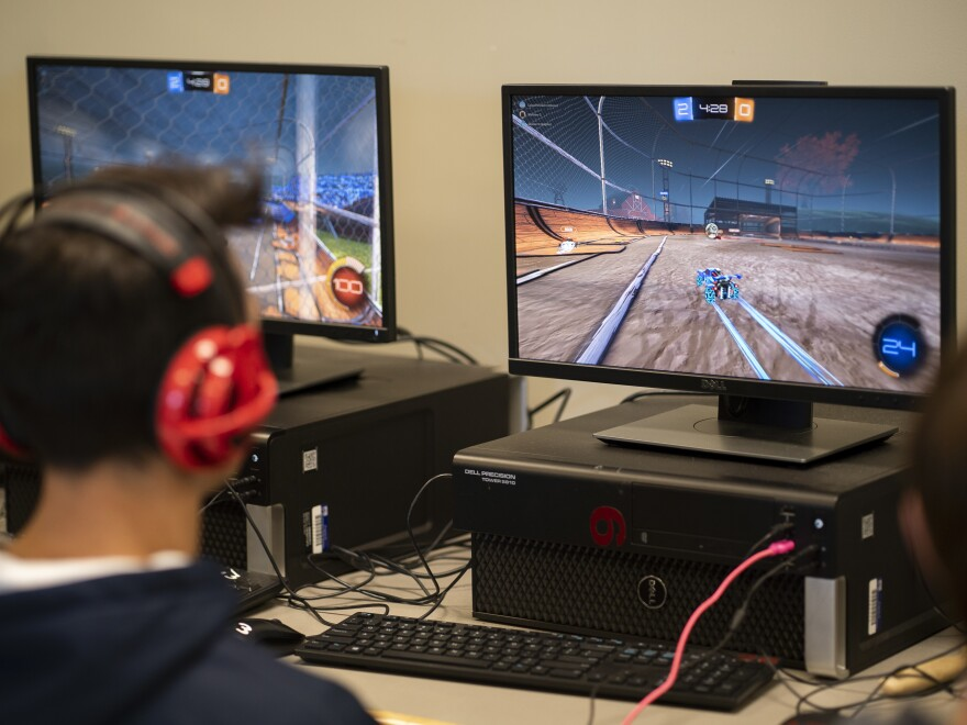 Much like traditional sports, students learn communication, how to handle stress and overcome failure through esports.