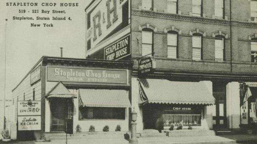 Chophouses, like this one in Staten Island, N.Y., were meat and potatoes restaurants that catered to middle-class businessmen.<a></a><a></a><a></a>