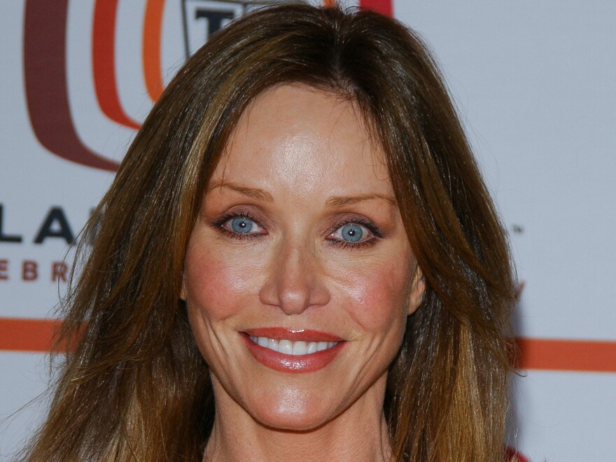 Actor Tanya Roberts at the 2006 TV Land awards in Santa Monica, Calif. She died Monday evening.
