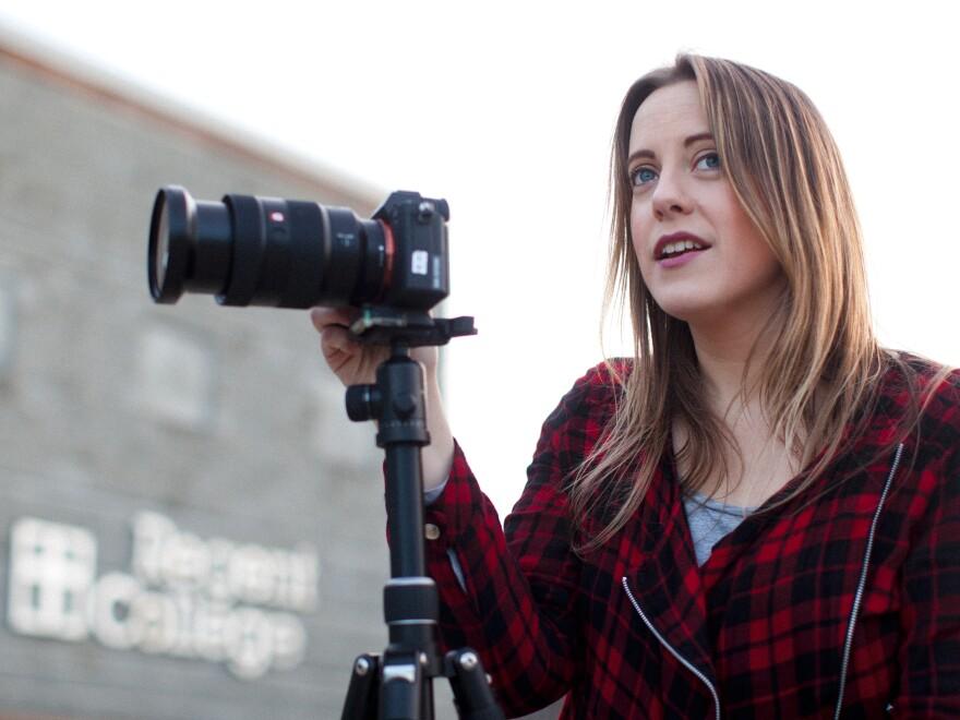Director and producer Jessica Van Der Wyngaard of <em>I Survived I Kissed Dating Goodbye.</em>