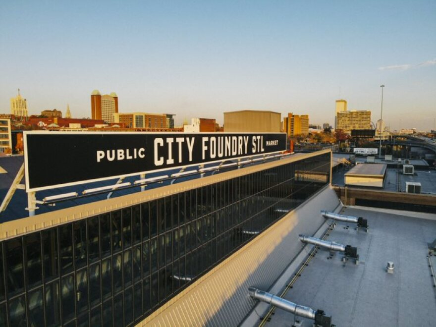City Foundry officials say roughly 50% of retail and entertainment spaces are available. It is at full capacity for office space.