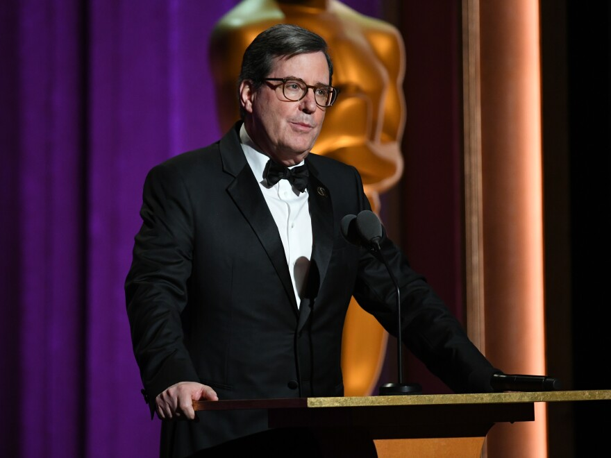 Academy of Motion Picture Arts and Sciences President David Rubin speaks onstage during the 11th Annual Governors Awards at The Ray Dolby Ballroom at Hollywood & Highland Center on October 27, 2019 in Hollywood, Calif.