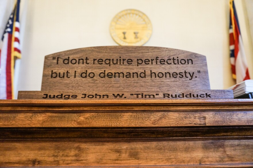 "Judge John Rudduck has a motto: ""I don't require perfection but I do demand honesty."" He says people in recovery are likely to relapse, but he can help them if they're honest about their struggles."
