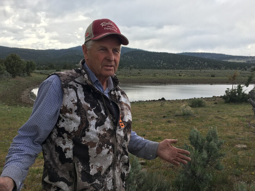 Southeast Oregon rancher Rancher Wayne Evans says he'll make it through this short water year, but it could cost him as much as $100,000 in lost hay, lost weight on his calves and equipment for hauling water to his livestock.