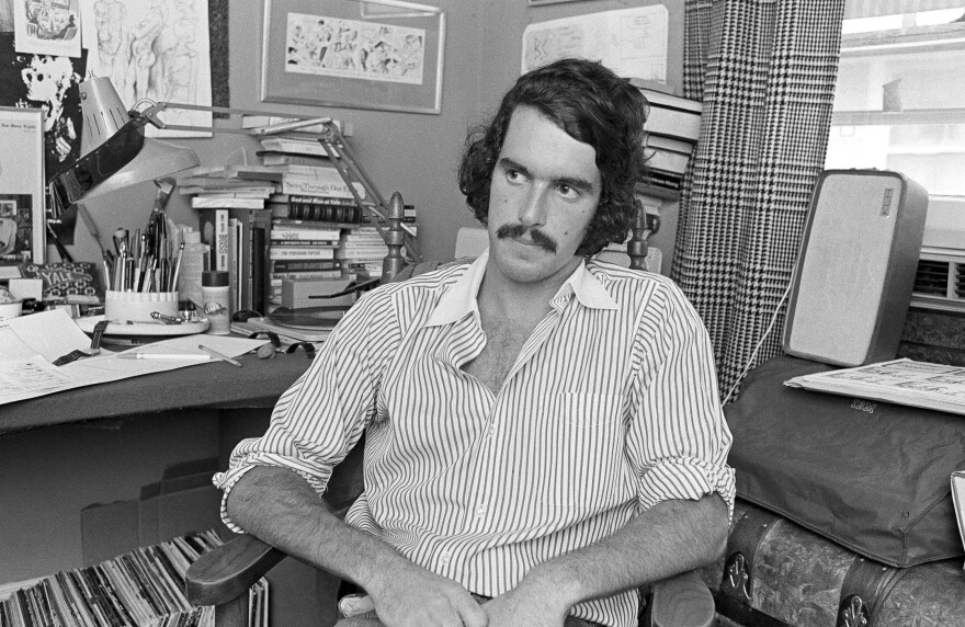 Garry Trudeau is shown at his office on Dec. 22, 1972.