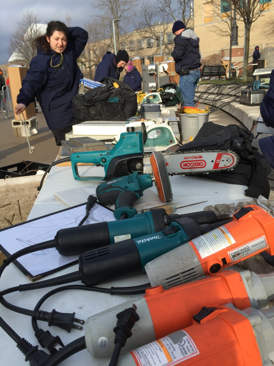 power tools for ice carving