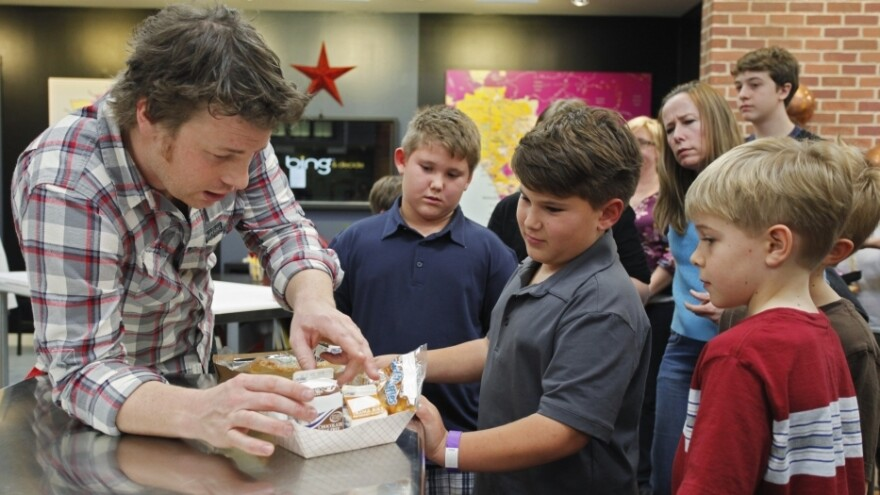 Chef Jamie Oliver takes his reality show <em>Food Revolution</em> to Los Angeles in an effort to revamp lunches in the nation's second-largest school district.