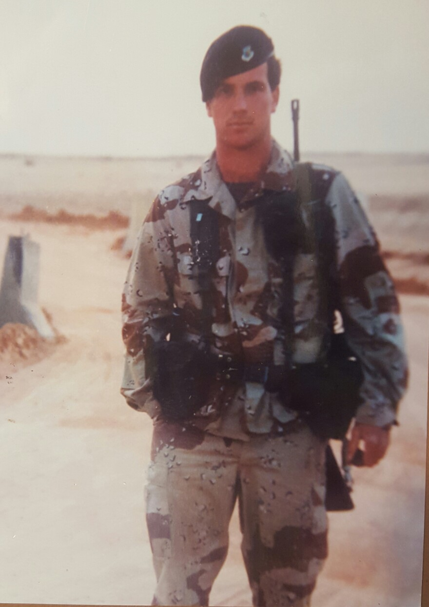 Tom Garey deployed to the Middle East in support of Operation Desert Shield/Storm.