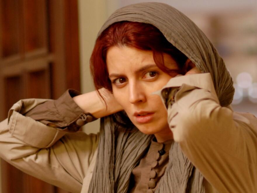 Leila Hatami as Simin in Asghar Farhadi's <em>A Separation</em>.
