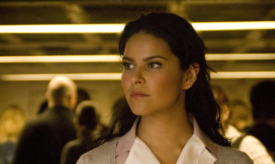 Litzy Dominguez stars in the popular telenovela <em>Una Maid en Manhattan</em> on Telemundo.