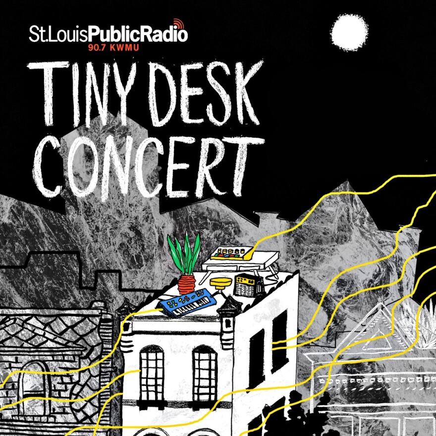 Tiny Desk Saint Louis logo rooftop concert