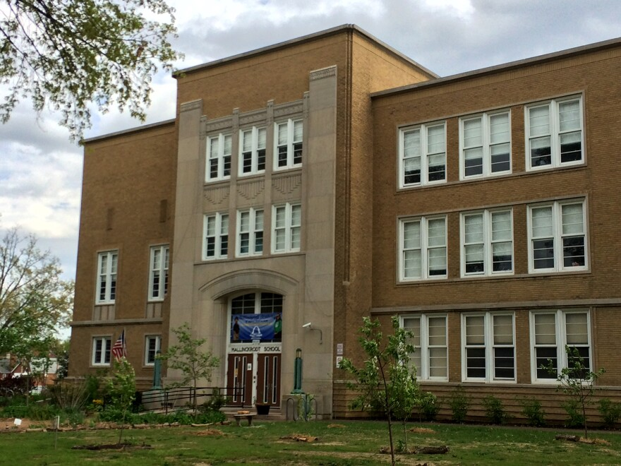 Mallinckrodt Academy for Gifted Instruction on Hampton Ave. in south St. Louis finished transitioning into a gifted elementary school in the fall of 2015.