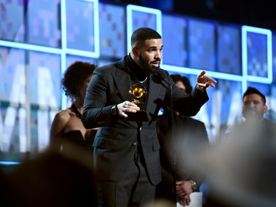 "Drake won the Best Rap Song Grammy for ""God's Plan,"" which was the No. 1 song in America for 11 weeks in 2018. Speaking to his peers of the award, he said, ""You don't need this."""