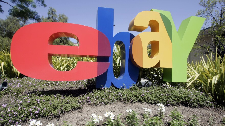 Hackers broke into a database containing customer information, auction site eBay said Wednesday. The company is based in San Jose, Calif.