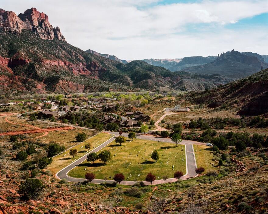 Paradise Road in Washington County, Utah