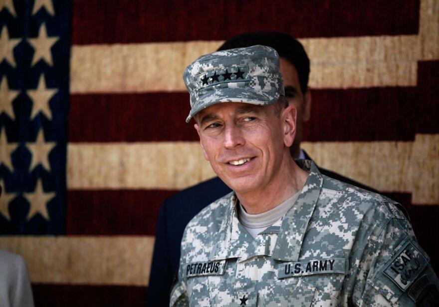 Gen. David Petraeus in Afghanistan in 2010.