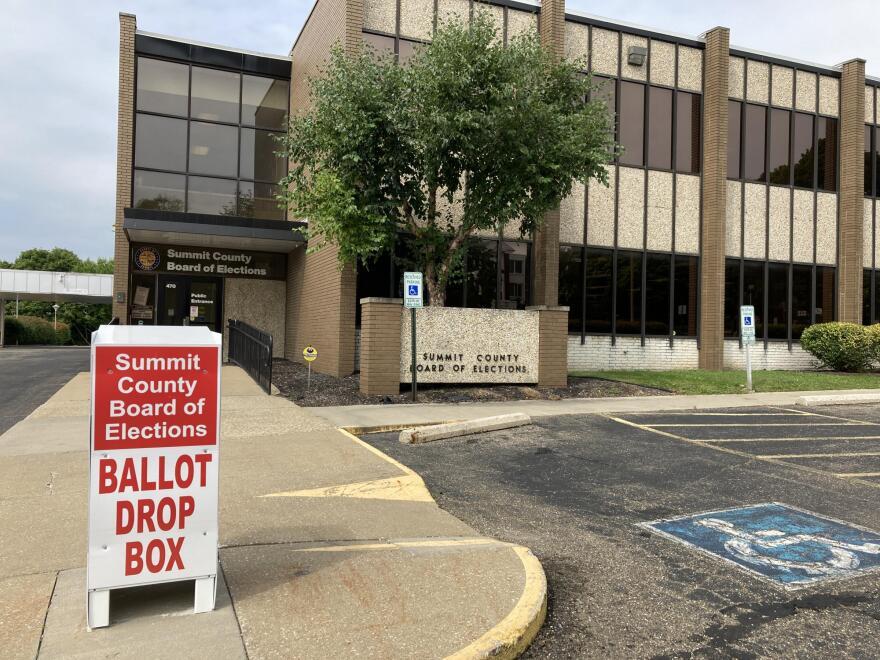 Summit County ballot drop box