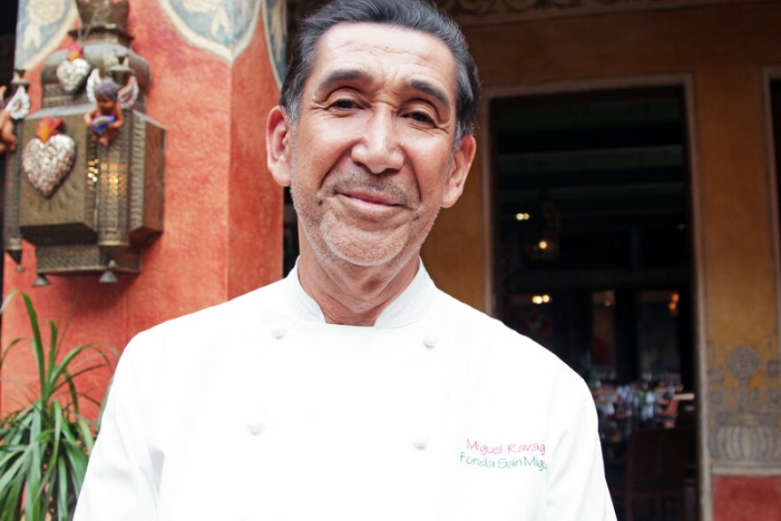 Fonda San Miguel chef Miguel Ravago says he'll never jeopardize the integrity of his recipes by substituting lime juice for similar ingredients.