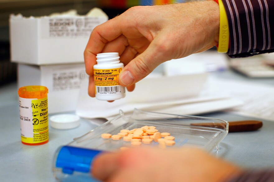 Suboxone is an opioid-replacement drug that can reduce cravings and symptoms of withdrawal.