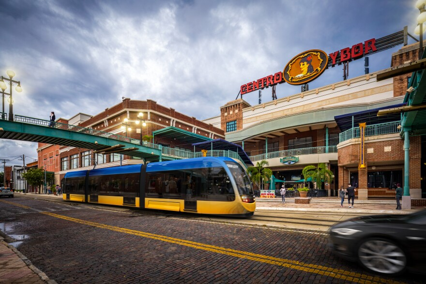 Rendering of Tampa Street Car