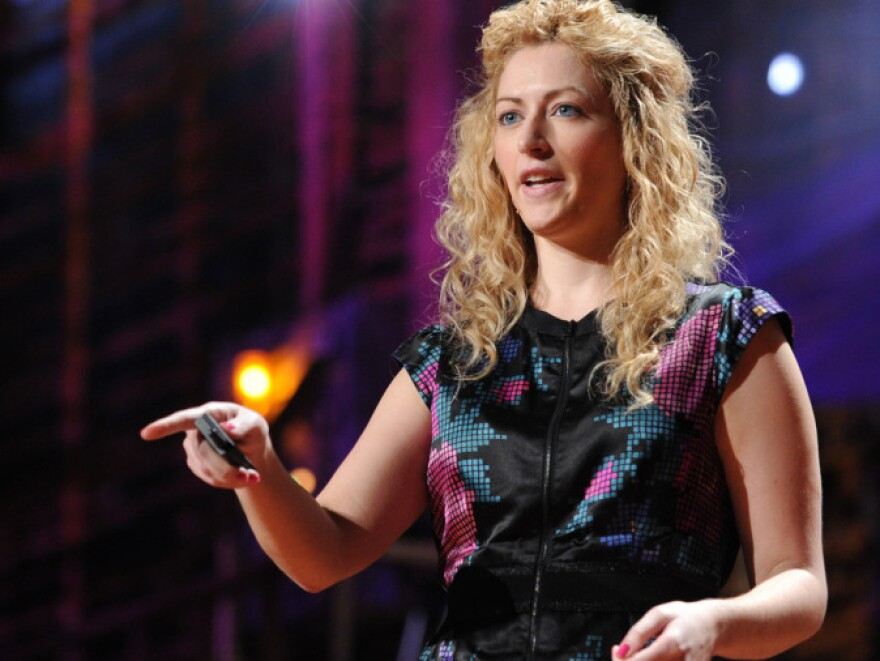 When Jane McGonigal suffered a concussion that impeded her ability to read and write, she created a game to help herself recover.