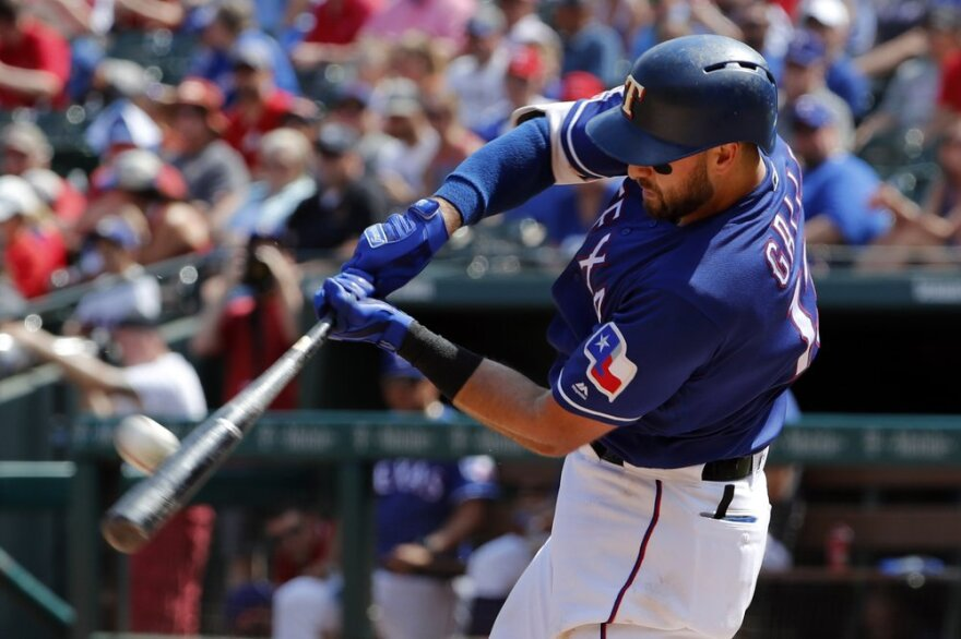 Rangers slugger Joey Gallo has tested positive for COVID-19, though the team says the All-Star right fielder is asymptomatic.
